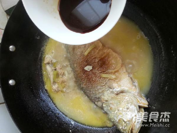 红烧大黄鱼怎么煮