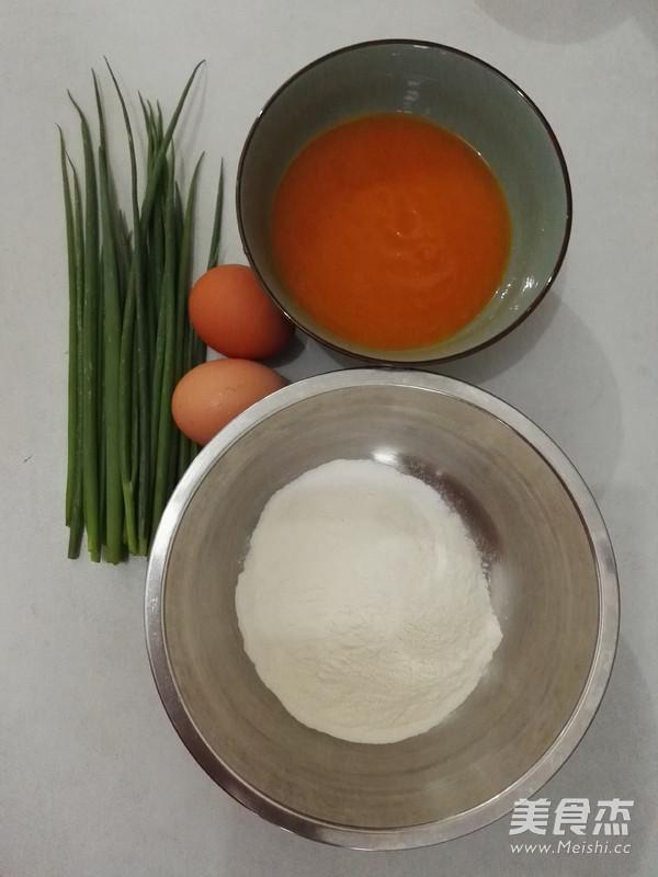 胡萝卜鸡蛋饼怎么做