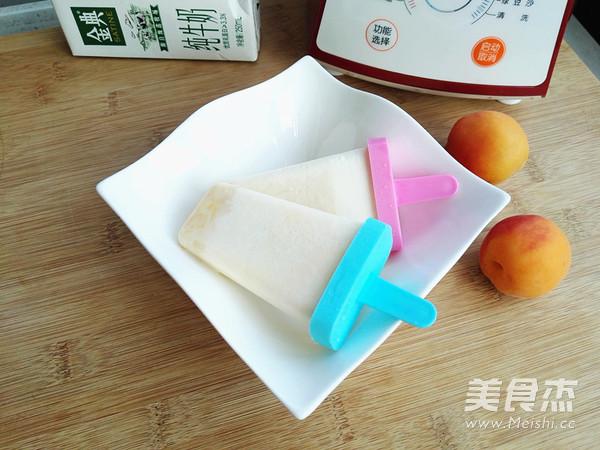 红薯奶油冰棒的制作
