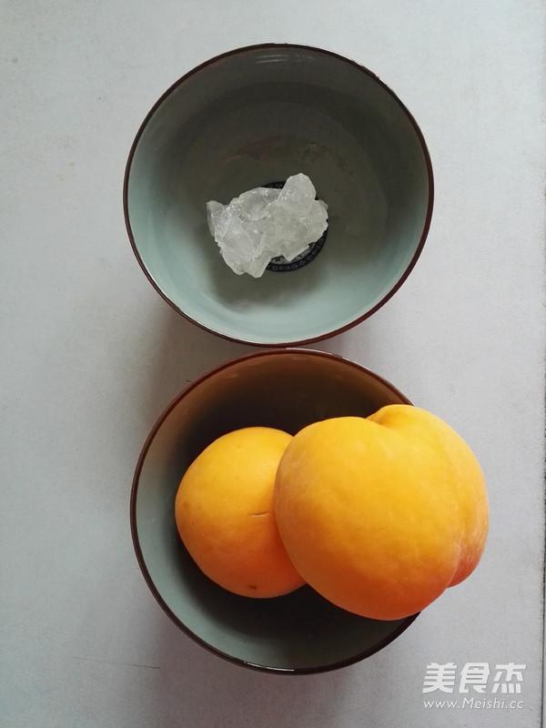 冰糖黄桃的做法大全