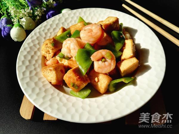虾仁青椒炒豆腐怎样炒