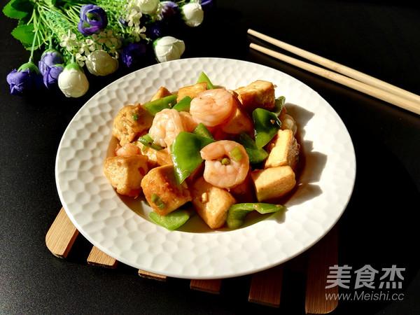 虾仁青椒炒豆腐怎样煮