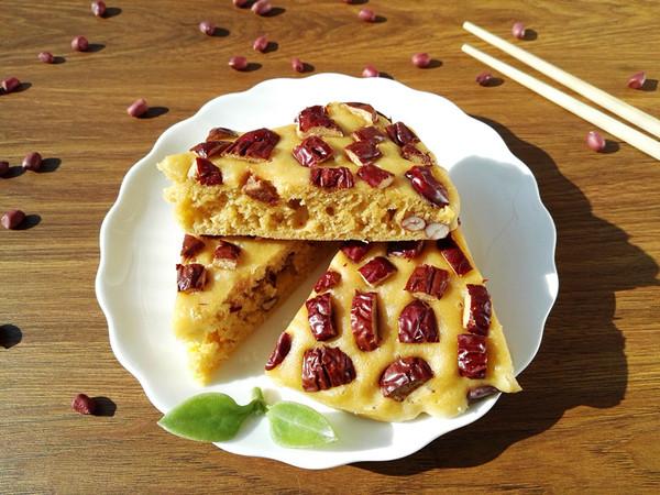 大枣花生玉米面发糕怎样煮
