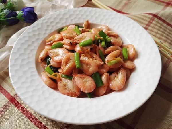 香炒河虾怎样做