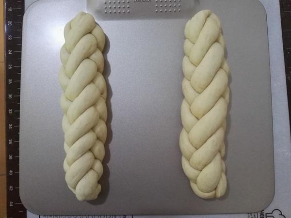 褐麦麻花辫面包的制作方法