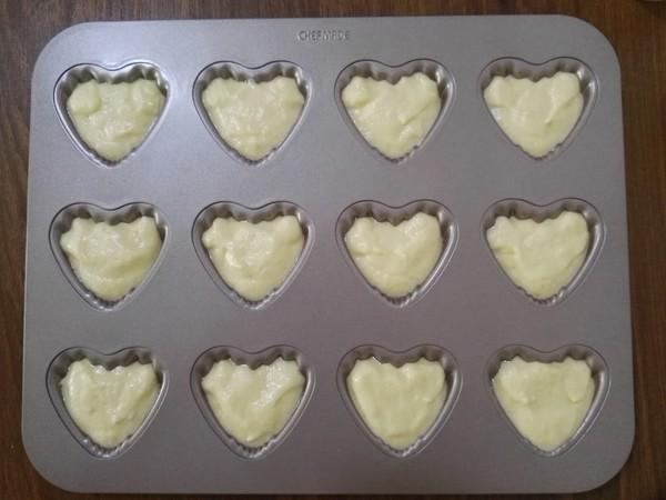 爱心豆沙小蛋糕怎样炖
