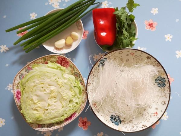 素炒粉丝卷心菜的做法大全