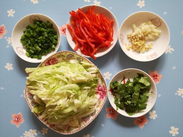 素炒粉丝卷心菜的家常做法
