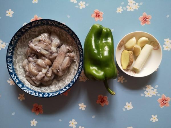 青椒炒海兔的做法大全