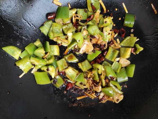青椒炒海兔怎么煮