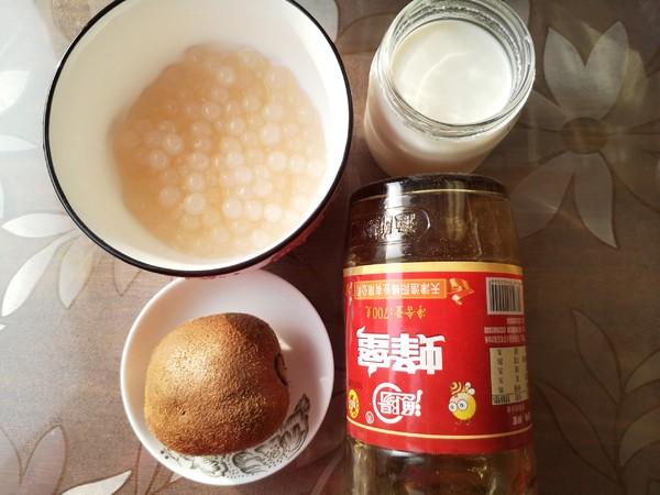猕猴桃酸奶西米羹的做法大全
