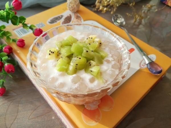 猕猴桃酸奶西米羹怎么煮