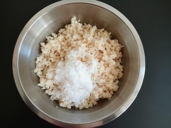 藕粒糯米丸的简单做法