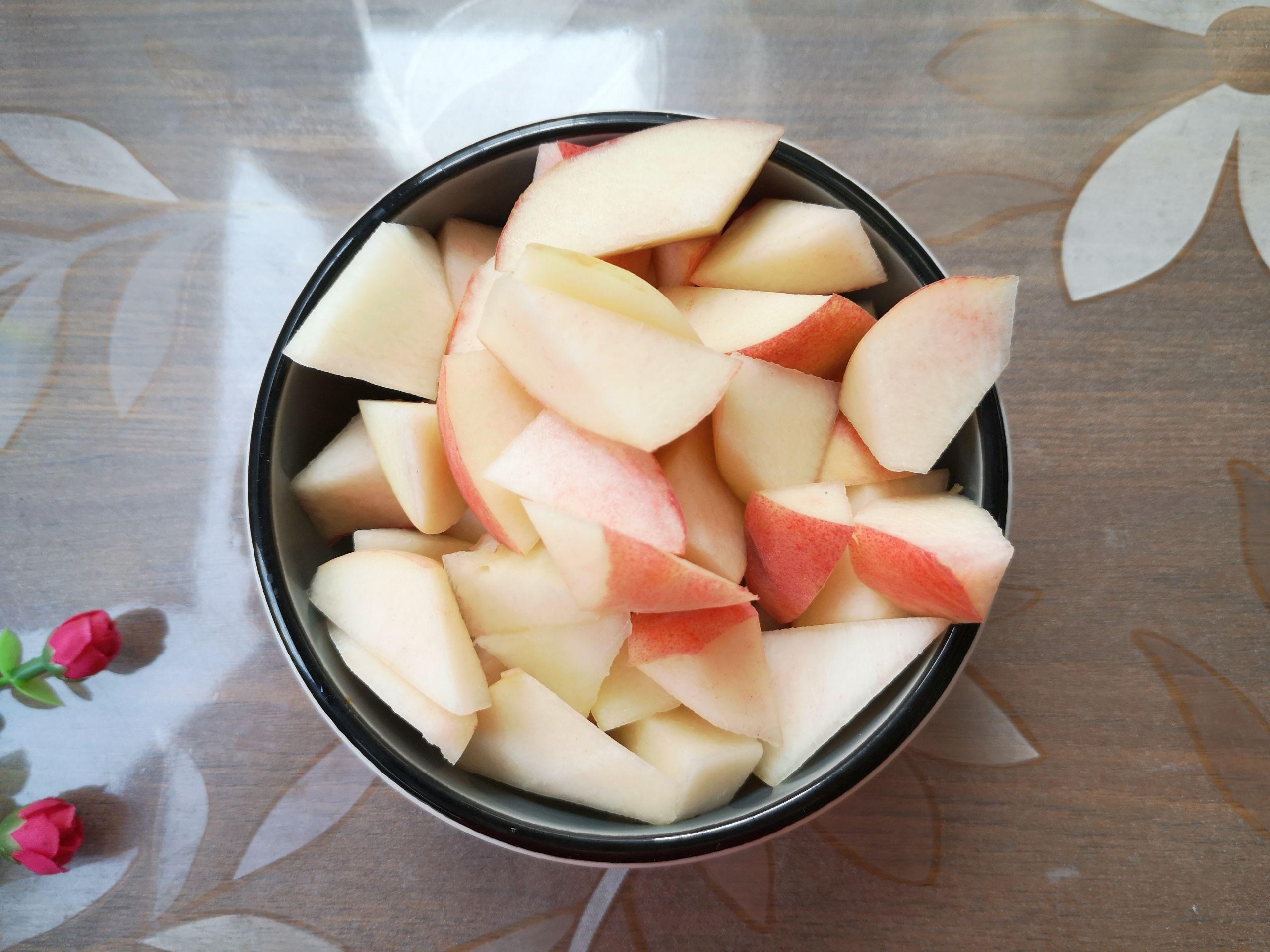 冰糖桃的做法图解