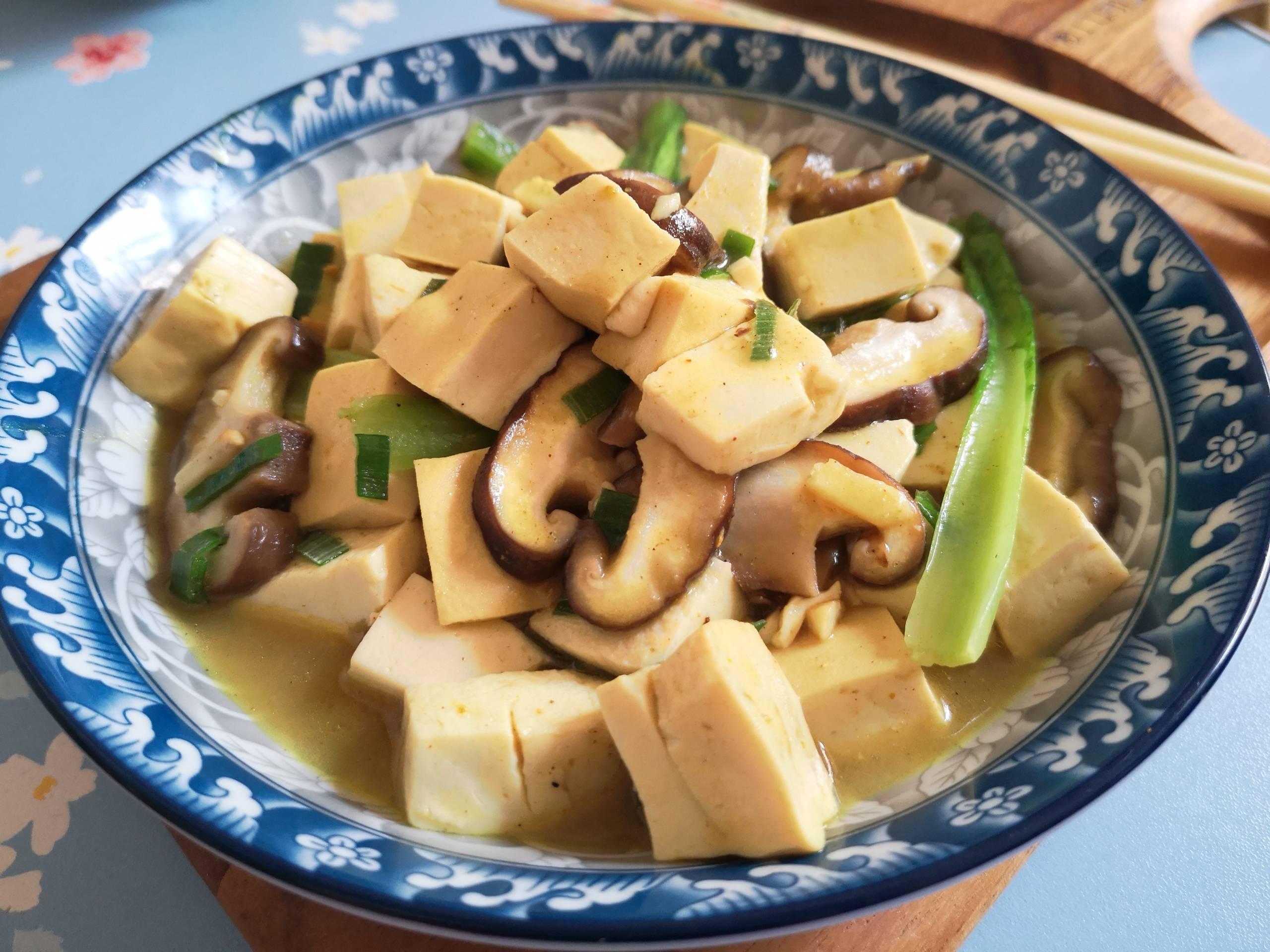 咖喱豆腐怎样煸