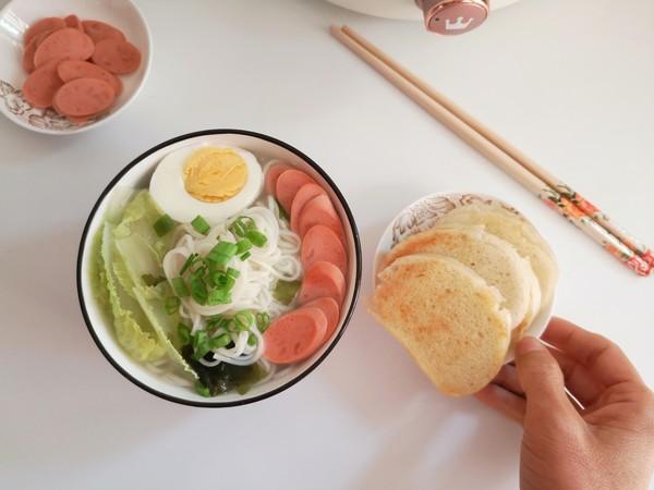 菜芯火腿鸡蛋汤面怎么炖