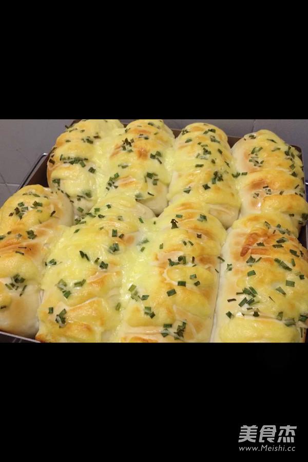 葱香芝士面包的简单做法