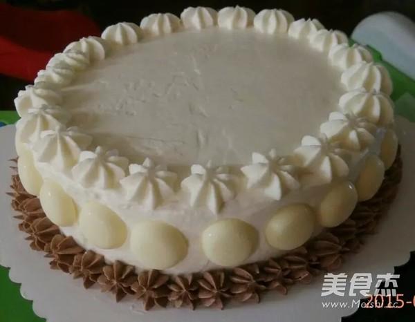 奶油霜转印汽车蛋糕怎么炖