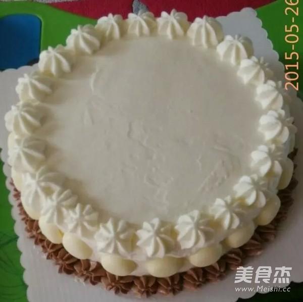 奶油霜转印汽车蛋糕怎么煮