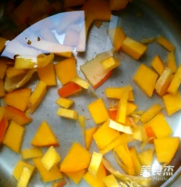 银耳南瓜枸杞小米粥的做法图解