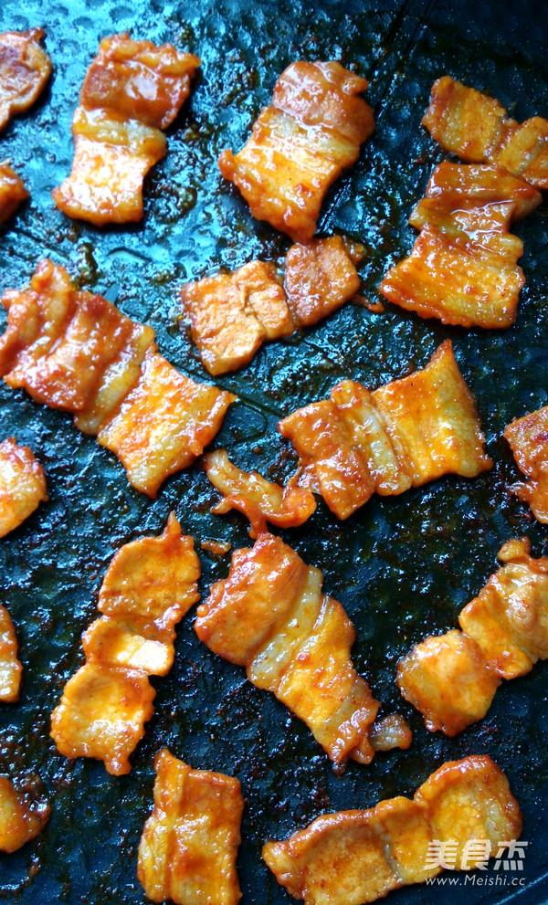 韩式辣酱煎烤猪肉怎么做