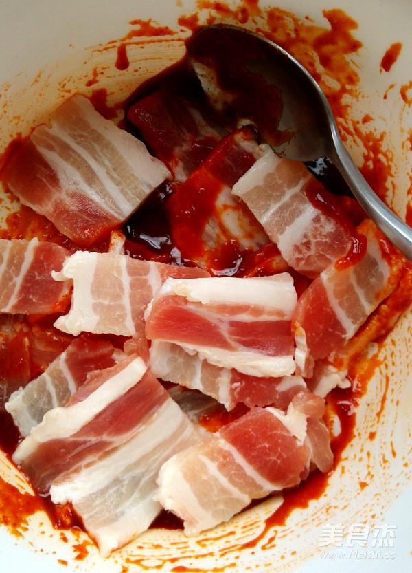 韩式辣酱煎烤猪肉的做法图解