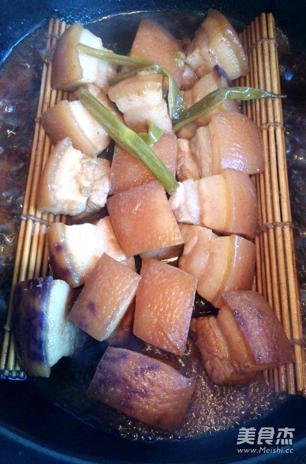 东坡肉拌面的家常做法