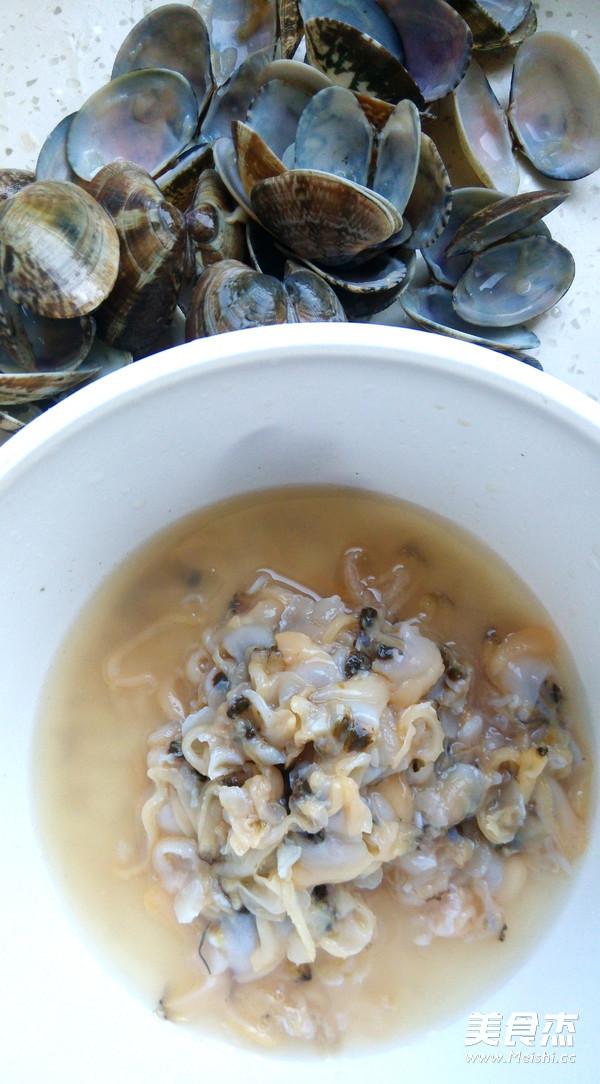 菠菜蛤蜊鲜汤面的做法图解