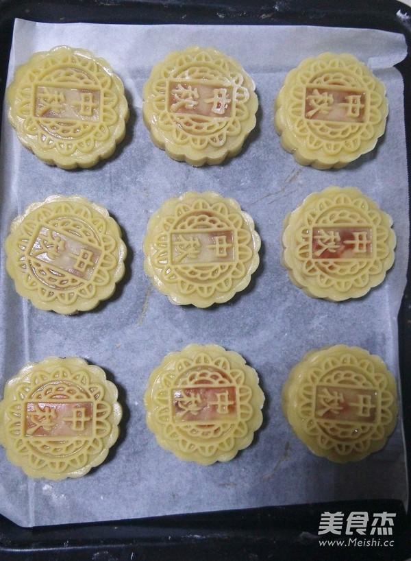 广式蛋黄莲蓉月饼怎么做