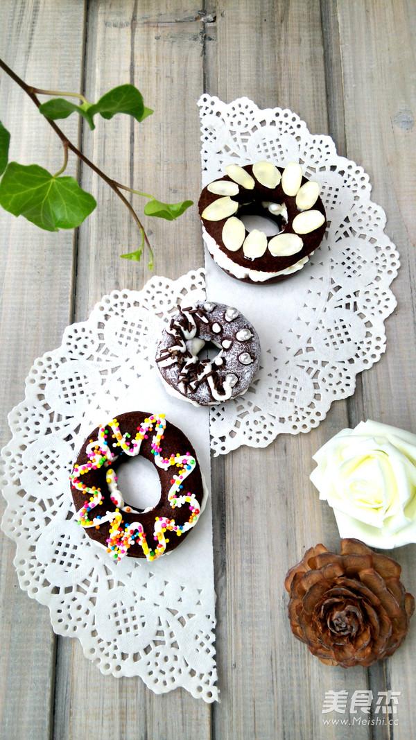 巧克力甜甜圈泡芙怎么做