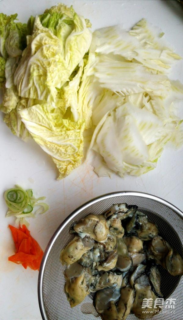 白菜海蛎子炖冻豆腐的做法大全