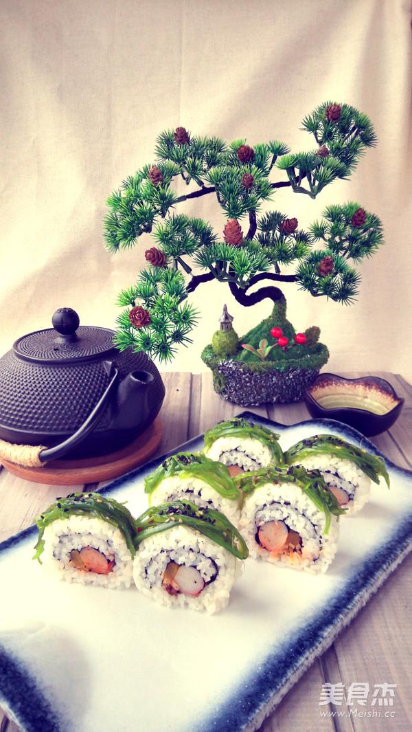 改良版裸体寿司怎么吃