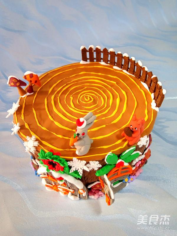 迷你树屋蛋糕怎样煮