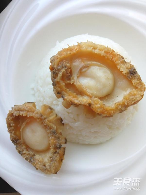 鲍鱼捞饭怎么吃