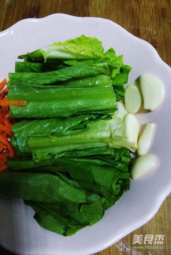 家常小炒油麦菜的做法大全