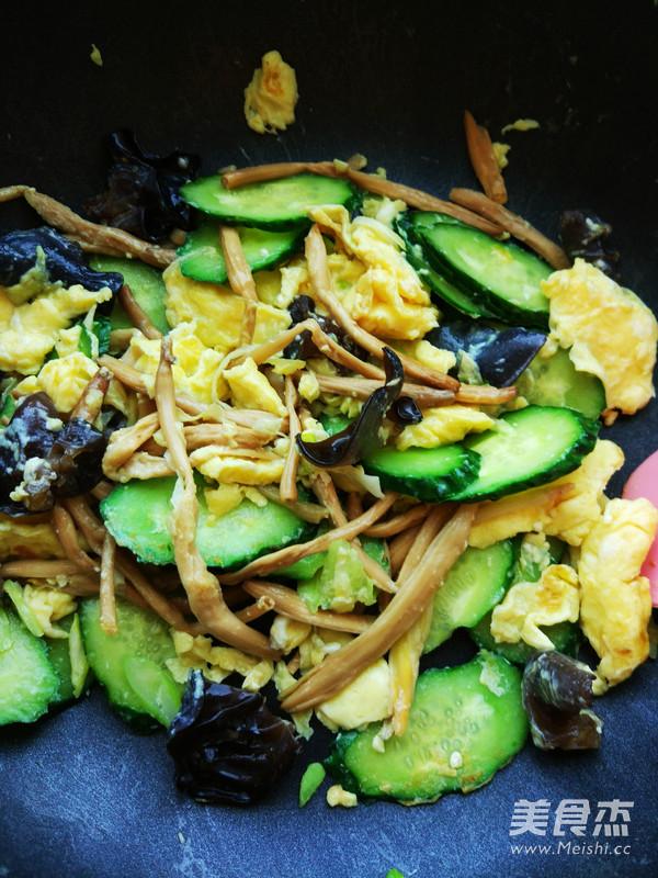 木须黄瓜怎么吃