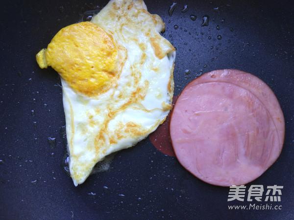 快手早餐三明治的做法图解