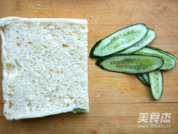 快手早餐三明治的做法大全