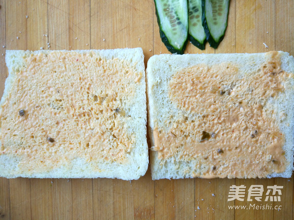 快手早餐三明治的家常做法