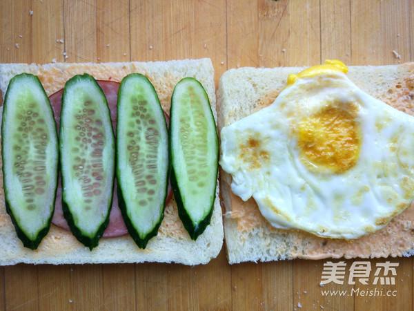 快手早餐三明治的简单做法