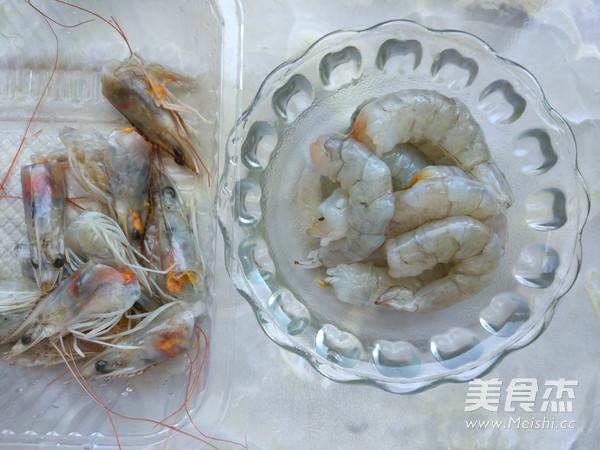 鲜虾热汤面的做法大全