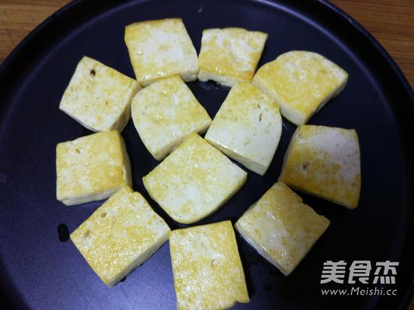 香菇蚝油烧豆腐的家常做法