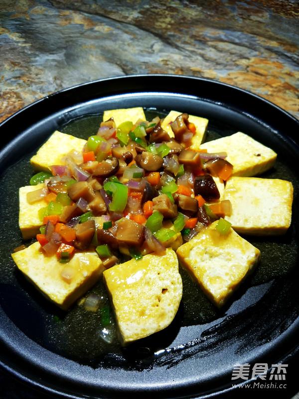 香菇蚝油烧豆腐怎么做