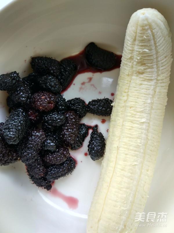 桑葚香蕉冰淇淋的做法大全