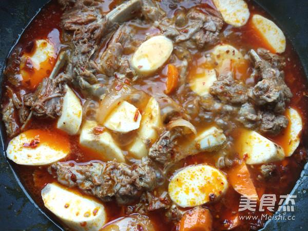 麻辣回锅羊肉的简单做法