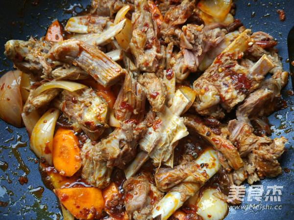 麻辣回锅羊肉的家常做法