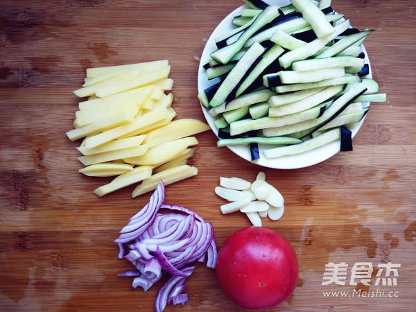 西红柿土豆炒茄条的做法大全