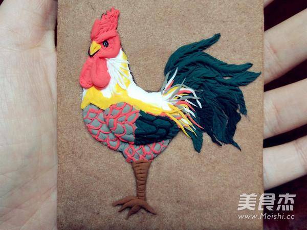 鸡年大吉翻糖饼干的制作