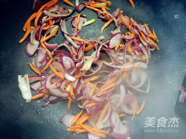 蔬菜酱油炒面(挂面版)怎么吃