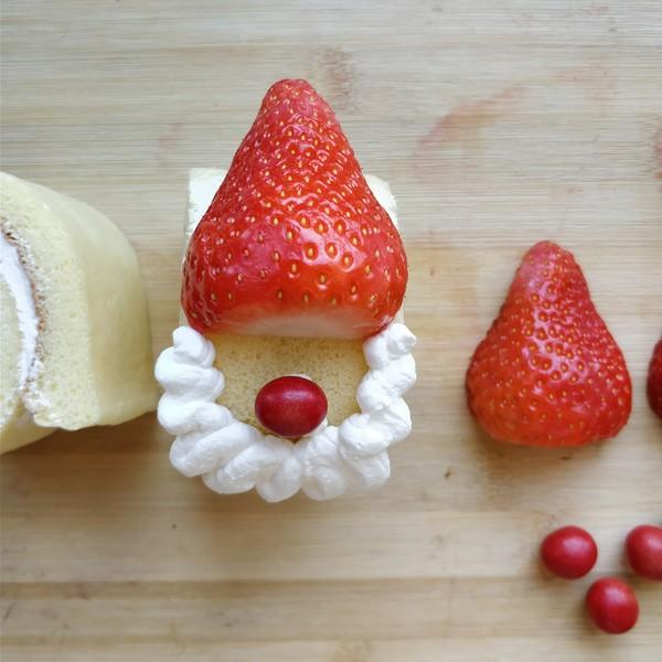 圣诞老人蛋糕卷的做法大全